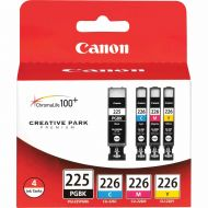 Canon, CNMPGI225CLI226, PGI225CLI226 4pack Ink Tank Cartridges, 4  Pack