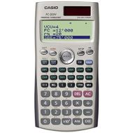 Casio FC-200V Financial Calculator with 4-Line Display