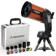 Celestron NexStar 8 SE Schmidt-Cassegrain Computerized Telescope - with Deluxe Accessory Kit (5 Celestron Plossl Eyepieces, 1.25 Barlow Lens, 1.25 Filter Set, Accessory Carry Case