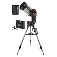 Celestron NexStar Evolution 8 3 Item Bundle Telescope w WIFI, with Deluxe Eyepiece Kit and Lens Shade