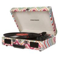 Crosley Cruiser Portable Turntable WBuilt in Speakers - Stripes