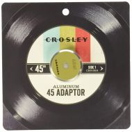 Crosley CR9001A-TU Aluminum 45 Adapter, Turquoise