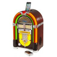 Crosley CR1702-CH iJuke Premier Jukebox with Universal iPod Dock and CD Player
