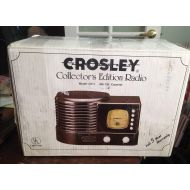 Crosley Collectors Limited Edition AMFM Radio with Cassette Model CR 1--1988--Works
