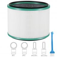 DEKIRU Dyson Air Purifier Filter Replacements for Dyson Desk Purifier Pure Cool Link, Dyson Pure Hot + Cool Link Fan HP01 HP02 & DP01, Compare to Part # 968125-03 Dyson Filter Replacement