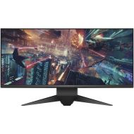 Dell Alienware 1900R 34.1, Curved Gaming Monitor LED-Lit, WQHD 3440 x 1440p Resolution, 4ms 120Hz Overclocked Refresh Rate, NVIDIA G-Sync, 21:9 Aspect Ratio, HDMI, Display Port, 4x USB