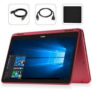 Dell Inspiron 11.6 LED Anti-Glare Touchscreen 2 in 1 2018 Newest Laptop Computer, AMD A9-9420e up to 2.7GHz, 4GB DDR4, 128GB SSD, HDMI, WiFi, Bluetooth, USB 3.1, Windows 10 with Bo