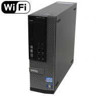 Dell Optiplex 990 SFF Flagship Premium Business Desktop Computer (Intel Quad-Core i5-2400 up to 3.4GHz, 16GB RAM, 2TB HDD, DVD, WiFi, VGA, DisplayPort, Windows 10 Professional) (Ce
