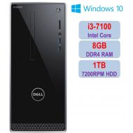 2018 Newest Premium Dell Inspiron i3668 Desktop PC, Intel Core i3-7100 3.90 GHz Processor, 8GB DDR4 ,1TB 7200RPM HDD, HD Graphics, DVD±RW, Bluetooth, HDMI, WIFI, Dell Keyboard & Mo