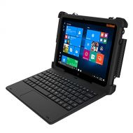 Dell MobileDemand Flex 10A Windows 10 Pro Rugged 2-in-1 Tablet / Laptop with Keyboard - Military Drop Tested