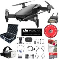 DJI Mavic Air Drone Combo 4K Wi-Fi Quadcopter with Remote Controller Pro Photo Edit Bundle With Hard Case VR Goggles Landing Pad 32GB Memory Card 16GB Drive And Corel Pro X9 (Arcti