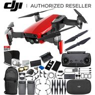 DJI Mavic Air Drone Quadcopter (Flame Red) 2-Battery Ultimate Bundle