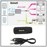 DZT1968 Portable 3.5mm Wireless Bluetooth 2.1 + EDR USB Aux Audio Music Receiver Adapter