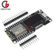 Davitu 0.96 Inch OLED Display Wemos ESP8266 ESP-12F ESP12F CP2102 Wireless Wifi Development Board Micro USB 0.96 for Arduino NodeMCU