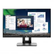 DisplayPort HP 23.8-inch FHD IPS Monitor with Tilt/Height Adjustment and Built-in Speakers (VH240a, Black)