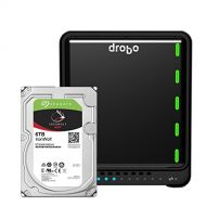 Drobo 5C 8TB: 5-Drive Direct Attached Storage (DAS) Array with Seagate IronWolf HDDs - USB 3.0 port, type C (DDR4A21-8TB)