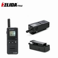 Super Mini Two Way Radio Transceiver HELIDA 128 channel FRS GMRS UHF 400-520MHz Walkie Talkie with...