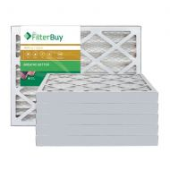 FilterBuy AFB Gold MERV 11 20x25x2 Pleated AC Furnace Air Filter. Pack of 6 Filters. 100% produced in the USA.