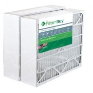 FilterBuy 2 - 20x25x6 Aprilaire Space Gard 201 Alternative Pleated AC Furnace Air Filters. AFB Platinum MERV 13.