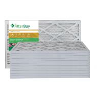 FilterBuy AFB Gold MERV 11 16x25x1 Pleated AC Furnace Air Filter. Pack of 12 Filters. 100% produced in the USA.