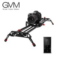GVM Camera Slider Track Dolly Slider Rail System with Motorized Time Lapse and Video Shot Follow Focus Shot and 120 Degree Panoramic Shooting 31 80cm
