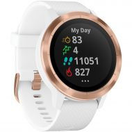 Garmin vvoactive 3 Smartwatch w Contactless Payments, WhiteRose Gold