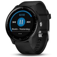 Beach Camera Garmin Vivoactive 3 Music GPS Smartwatch Black and Gunmetal (010-01985-01) with 1 Year Extended Warranty