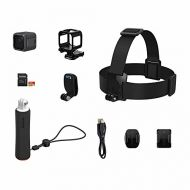 GoPro HERO5 Session Action Camera (4K Video, 10MP Photos) Bundle with 16GB MicroSD Card, Head Strap and QuickClip, and Floating Hand Grip