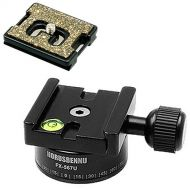 Horusbennu HORUSBENNU D-SLR RF Mirrorless Camera 360 Swivel Panoramic Dovetail Head Clamp FX-567U with Plate