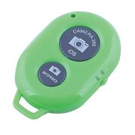 Hatori Bluetooth Wireless Remote Control Camera Shutter Release Self Timer for IOS Android Smartphones (Green Shutter)