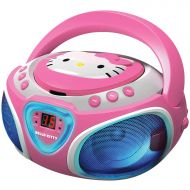 Hello Kitty KT2025 CD Boom Box with AMFM Radio and LED Light Show