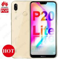 [직배송][추가금없음]Huawei P20 Lite Global Firmware Face ID Nova 3e Smartphone 5.84 '' Full View Screen Android 8.0 Glass Body 24MP Front Camera