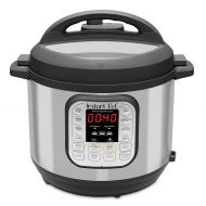 Instant Pot DUO60 6 Qt 7-in-1 Multi-Use Programmable Pressure Cooker, Slow Cooker, Rice Cooker, Steamer, Saute, Yogurt Maker and Warmer