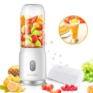 JUSCHEF Portable Blender Shakes and Smoothies, Juschef USB Rechargeable and Cup Detachable Personal Size Juice Mixer, FDA Approved