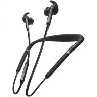 Jabra Elite 65e Alexa Enabled Wireless Stereo Neckband with In-Ear Noise Cancellation  Titanium Black