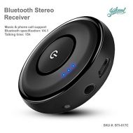 Jackscool Mini Bluetooth Receiver with Phone Call Function. Latest Bluetooth 4.1A2DPAVRCP technology, up to 14 working hours | Audio Adapter 3.5mm Aux Adapter for Home and Car Audio Stereo
