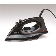 Jerdon 3570945 Hotel Midsize Dual Auto Shut-Off Iron, 1200W - Black