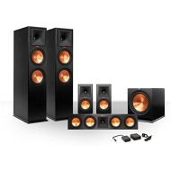 Klipsch 5.1 RP-260 Reference Premiere Speaker Package with R-112SW Subwoofer and Wireless Kit (Ebony)