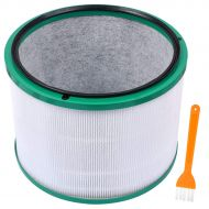 KEEPOW Desk Purifier Replacement Filter Compatible with Dyson Pure Cool Link Desk Air Purifier-968125-03
