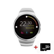 [직배송][추가금없음]KINGWEAR Kingwear KW18 Smart Watch AndroidiOS Thin Smart watches With A Sim Card Bluetooth Phone Function Heart Rate Monitor Smartwatch