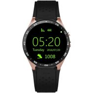 KINGWEAR KingWear KW88 Android 5.1 1.39inch Camera Recording 3GWIFI Smartwatch Phone MTK6580 1.39GHz GPS Pedometer Voice Assistant