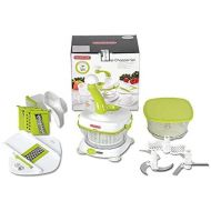 KONSTAR Food Processors Konstar Multi Master Chopper Set Slicer Food Processor Liquidizer Crusher Crushing Ice Mince Chop Slicer Blender