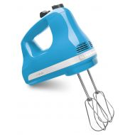 KitchenAid 5-Speed Ultra Power Hand Mixer, Crystal Blue (KHM512CL)