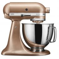 KitchenAid Artisan Series 5 Quart Tilt-Head Stand Mixer, Toffee Delight (KSM150PSTZ)