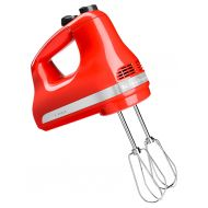 KitchenAid 5-Speed Ultra Power Hand Mixer, Hot Sauce (KHM512HT)