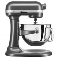 KitchenAid Pro 600 Series 6 Quart Bowl-Lift Stand Mixer, Dark Pewter KP26M1XDP