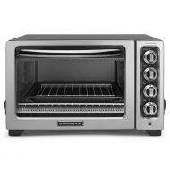 KitchenAid 12in Convection Countertop Oven Silver RKCO234CU(Renewed)