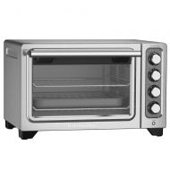 KitchenAid 12-Inch Compact Convection Countertop Oven - Contour Silver Refurbished (KCO253CU)