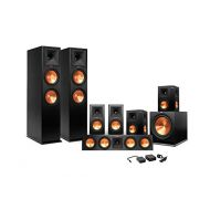 Klipsch 7.1 RP-260 Reference Premiere Surround Sound Speaker Package with R-112SW Subwoofer and a FREE Wireless Kit (Black)