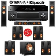 Klipsch RP-250F Reference Premiere 7.1 Home Theater System with Yamaha RX-A1060BL AVENTAGE 7.2-Ch Network AV Receiver